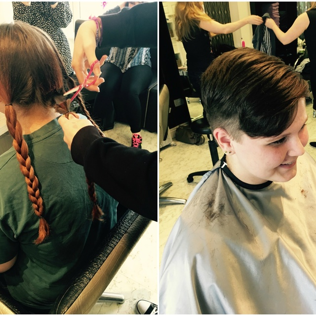 Hairdressing For A Good Cause